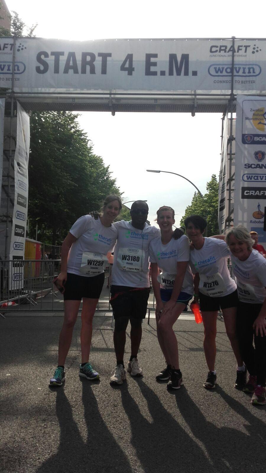 Halve Marathon Zwolle 12 juni 2016